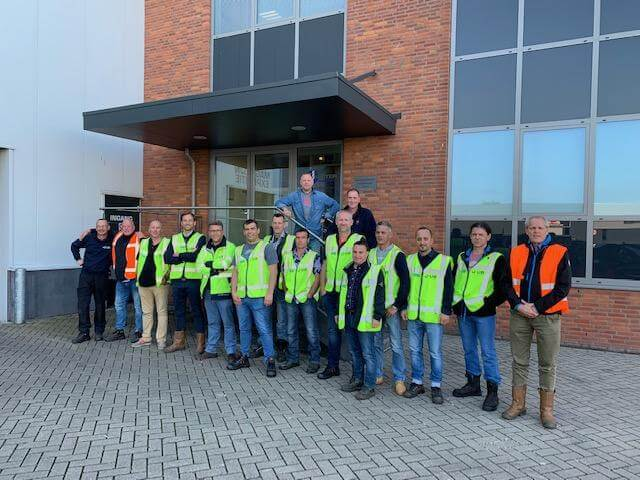 De Ruiter Staalkabel hosted 20 delegates from J-UB
